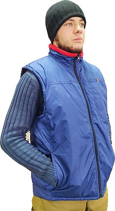 Куртка-Жилетка  синяя для ИТР (есть в сером цвете и черном), фото 2