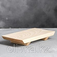 Доска для суши, 21 х 12 х 3 см, массив ясеня