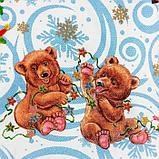 """Скатерть """"Этель"""" Новогодняя сказка 150х180 см, 100% хл, саржа 190 гр/м2, фото 4"""