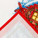 """Скатерть """"Этель"""" Новогодняя сказка 150х180 см, 100% хл, саржа 190 гр/м2, фото 5"""