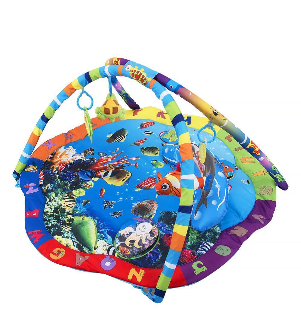 Развивающий коврик La-Di-Da Подводный Мир PM 80701