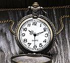 """Карманные кварцевые часы на цепочке """"Поезд"""". Kaspi RED. Рассрочка., фото 2"""