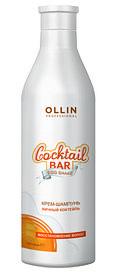 "OLLIN Cocktail BAR Крем-шампунь ""Яичный коктейль"""
