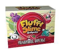 "Fluffy Slime Набор для опытов ""Фабрика флаффи слайма"" - Малиновое варенье"