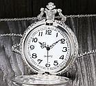 """Карманные кварцевые часы на цепочке """"Поезд"""". Kaspi RED. Рассрочка., фото 5"""