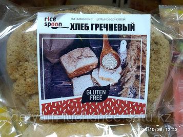 Безглютеновый гречишно - рисовый хлеб на закваске ,350 грамм