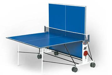 Стол теннисный Start line Compact LX (2) (ЛМДФ) с сеткой