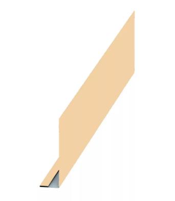 Планка карнизного свеса 250x50x2000 мм Глянец МП