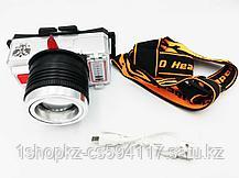 Налобный фонарь KL-T10, фото 3