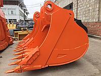 Ковш усиленный для экскаватора HITACHI ZX240 объем 1.02m3