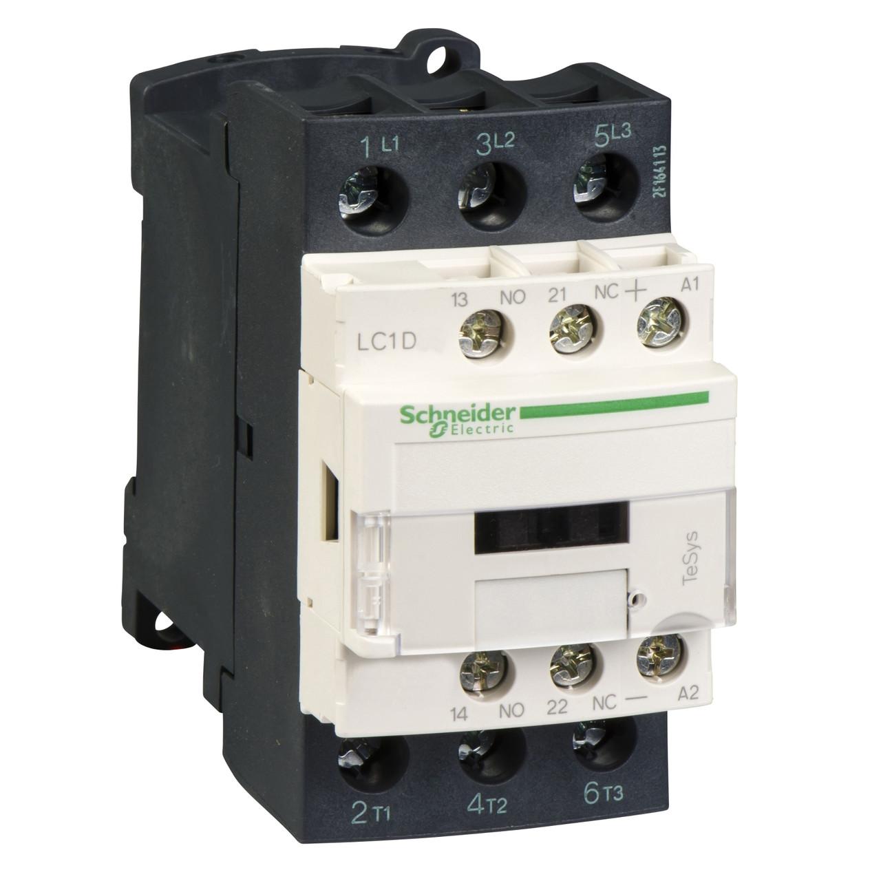 Контактор 3P 25A HO+H3 24V огран /LC1D25BD/