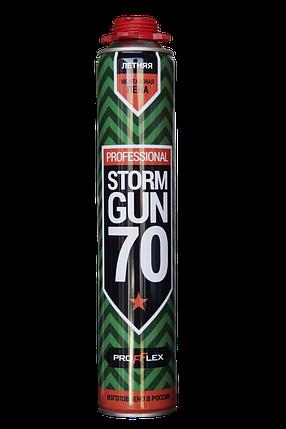 Пена монтажная STORM GUN PRO 70л NEW ЗИМА, фото 2