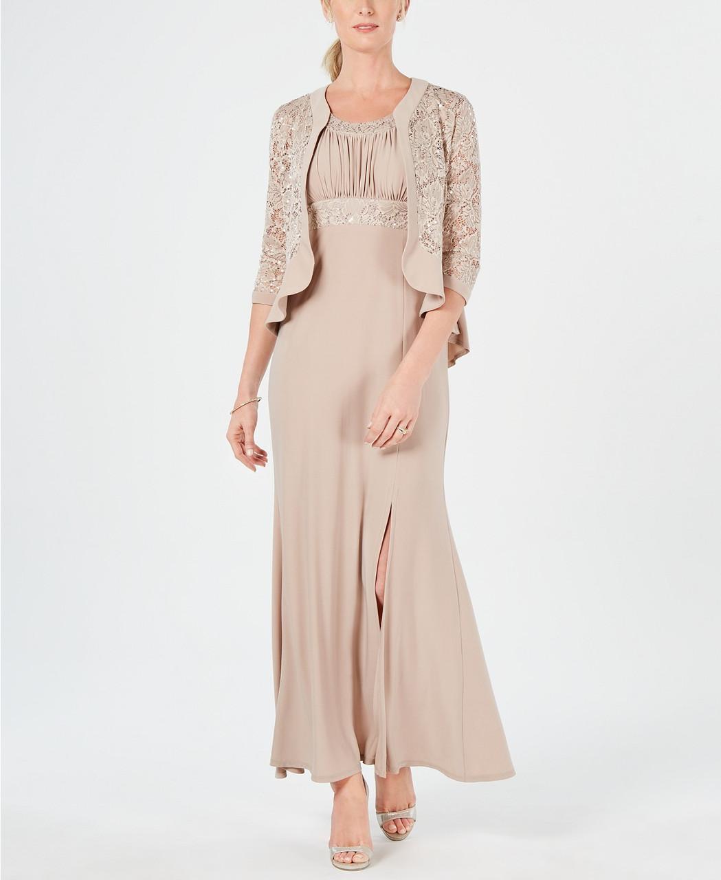 R & M Richards Женское платье с жакетом  - Е2