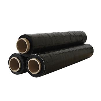 Стретч пленка 17мкм 200м (черная)