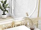 Кафель | Плитка настенная 20х44 Омниа | Omnia белый рельеф, фото 8