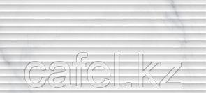 Кафель | Плитка настенная 20х44 Омниа | Omnia белый рельеф