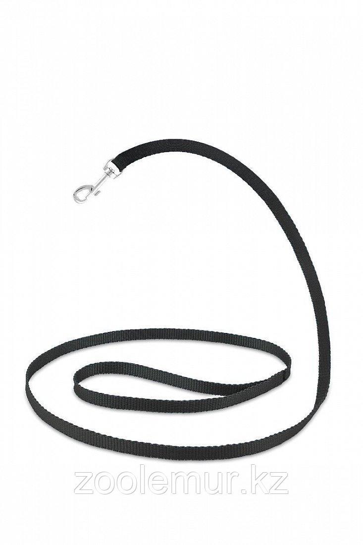 Повод Saival Classic «Color» Черный 1,2м - 12мм