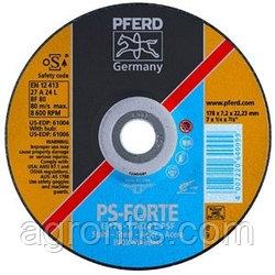 Круг шлифовальный Pferd E 178 - 7 A 24 L PSF