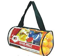 Шарики для наст. тен. 36 шт сумка WinMax
