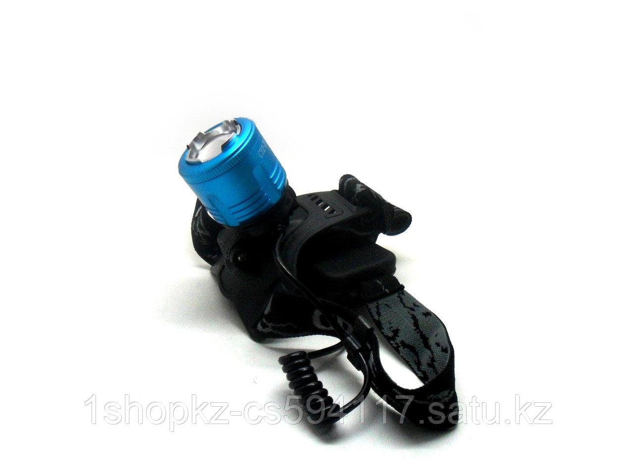 Налобный фонарь HIGH POWER HEADLAMP CYZ-F11 синий