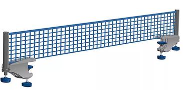 Сетка для наст.тенниса с креплениями ЛЕКО