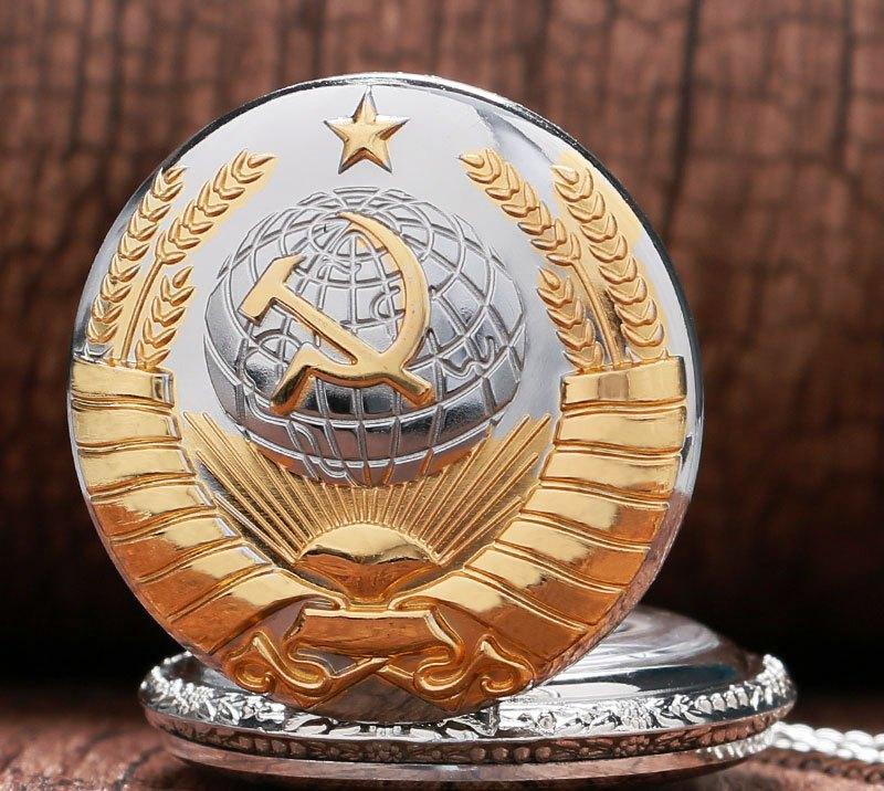 Карманные кварцевые часы на цепочке СССР. Ностальгия! Kaspi RED. Рассрочка.