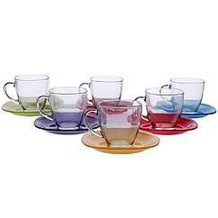 Чайный набор Carina Rainbow , 12 предметов Luminarc J5978