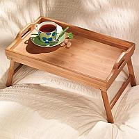 Деревянный столик для завтрака, фото 1