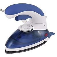 Портативный паровой утюг 1000 Вт, цвет синий, фото 1