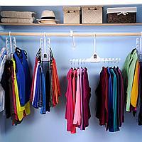 Складная двойная вешалка для одежды, фото 1