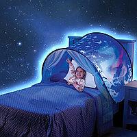 Тент на детскую кровать для защиты от света