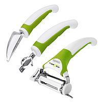 Набор кухонных ножей Triple Slicer 3 предмета, фото 1