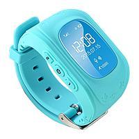 Детские смарт-часы Q50 с GPS, цвет голубой, фото 1