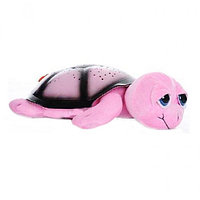 Ночник проектор звездного неба Черепаха (розовая), фото 1