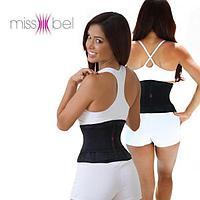 Пояс-корсет утягивающий Miss Belt (Мисс Белт), цвет черный, размер S/M, фото 1
