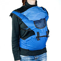 Рюкзак-кенгуру для переноски детей, цвет синий