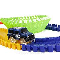 Детская игрушечная дорога Magic Tracks 165 деталей + машинка, фото 1