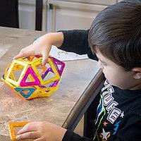 Детский магнитный конструктор 44 предмета, фото 1