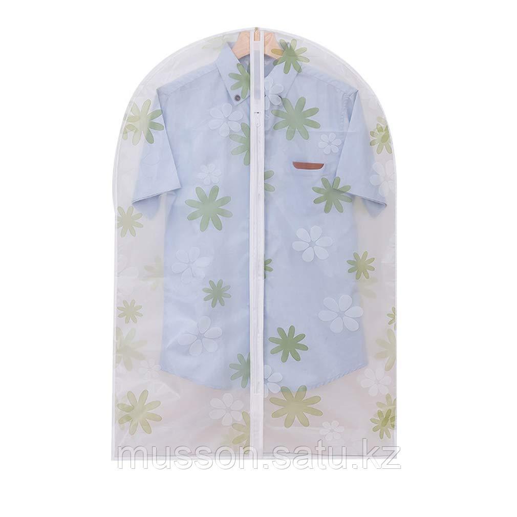 Подвесной чехол на молнии для хранения одежды прозрачный