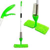 Швабра с распылителем и насадкой для мытья окон