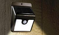 Светильник с датчиком движения на солнечной панели, фото 1
