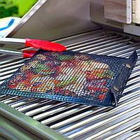 Антипригарный конверт-сетка для барбекю 33.5x27 см, фото 1