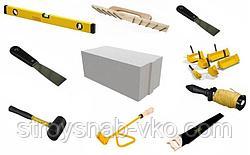 Самые необходимые инструменты для кладки газобетонных блоков