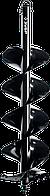 Шнек для мотобуров ЗУБР, мерзлый грунт, d=200 мм, двухзаходный, 7052-20