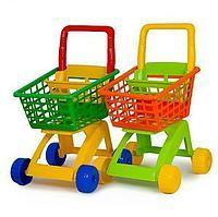 Детская тележка для супермаркета Полесье 7438