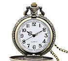 Карманные кварцевые часы на цепочке Super Man. Подарок!, фото 5