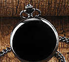 Карманные кварцевые часы на цепочке. Гравировка! Рассрочка. Kaspi RED., фото 4