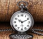 Карманные кварцевые часы на цепочке. Гравировка! Рассрочка. Kaspi RED., фото 3