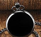 Карманные кварцевые часы на цепочке. Гравировка! Рассрочка. Kaspi RED., фото 5