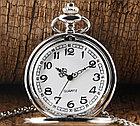 Карманные кварцевые часы на цепочке. Гравировка!, фото 5